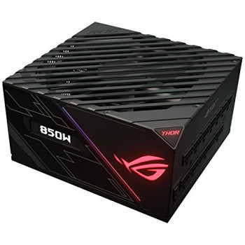 ASUS ROG Thor 850 W Platinum Power Supply Unit with Aura Sync and OLED Display - Black