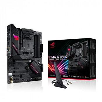 ASUS ROG Strix B550-F Gaming WiFi Motherboard, AMD, AM4, ATX, 128GB DDR4, 4 DIMM