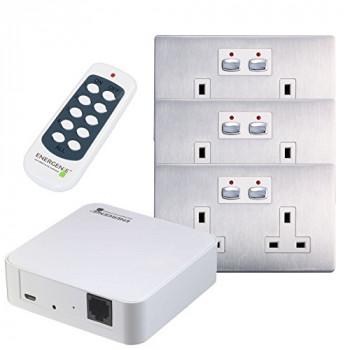 Energenie Mi Home Smart Steel Socket Bundle