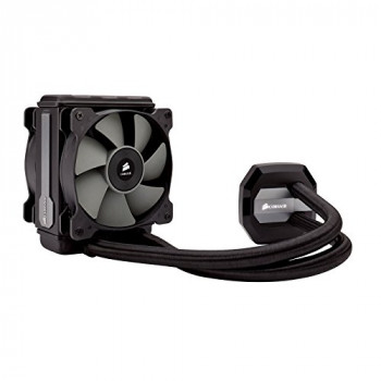 Corsair CW-9060024-WW Hydro Series H80i V2 120 mm High Performance All-In-One Liquid CPU Cooler - Black
