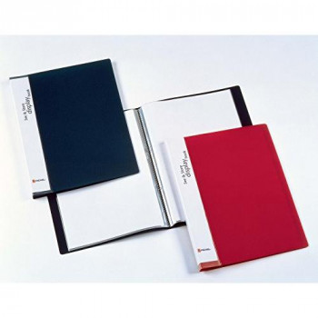 Rexel See and Store Display Book A4 Black (60 Pockets)