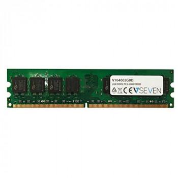 V7 V764002GBD Desktop DDR2 DIMM Memory Module 2GB (800MHZ, CL6, PC2-6400, 240 polig, 1.8 Volt)