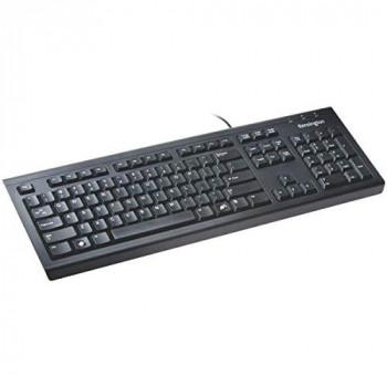 Kensington 1500109 Keyboard - Cable Connectivity - Black