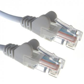 Connekt Gear 31-0030G 3 m RJ45 Cat6 Snagless Network Cable - Grey