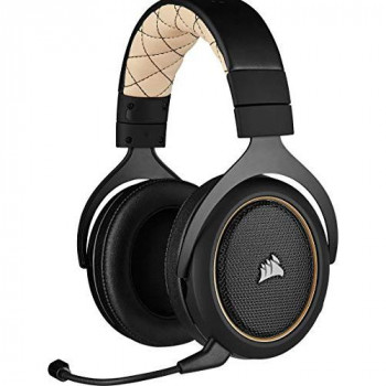 Corsair HS70 Pro Wireless Gaming Headset, Cream