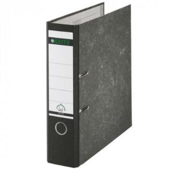 Leitz Standard Lever Arch File 80mm Spine A4 Black Ref 1080-95 [Pack of 10]