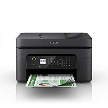 Epson WorkForce WF-2830DWF Print/Scan/Copy/Fax Wi-Fi Printer with ADF, Black