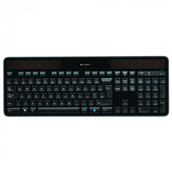 Logitech K750 Keyboard - Wireless Connectivity - RF