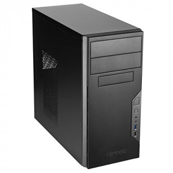 Antec Value Solution VSK3000B U3 Computer Case - Micro ATX, Mini ITX Motherboard Supported - Mini-tower - Black - 4.10 kg