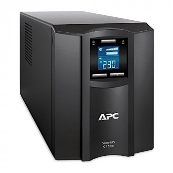 APC by Schneider Electric Smart-UPS SMC SmartConnect - SMC1500IC - Uninterruptible Power Supply 1500VA (Cloud enabled, 8 Outlets IEC-C13), Black