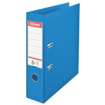 Esselte 624067 A4 75mm PVC Lever Arch File - Blue (Pack of 10)