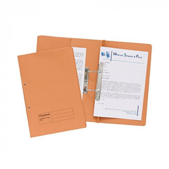 Guildhall Orange Pocket Spiral File
