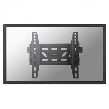 "Newstar Flatscreen Wall Mount 22-40"", 1 screen, tilt, Vesa 100x100 to 200x200mm, Spirit Level, Max 50kg, Black"