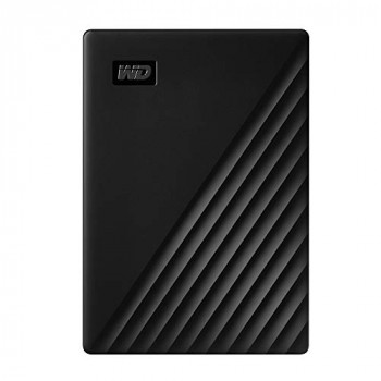 WD 1TB My Passport Portable Hard Drive with Password Protection and Auto Backup Software - Black