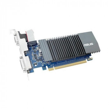 ASUS GT710-SL-2GD5 - Graphics card - GF GT 710 - 2 GB GDDR5 - PCIe 2.0 - DVI D-Sub HDMI - fanless - (Components > Video Graphics Cards) +]