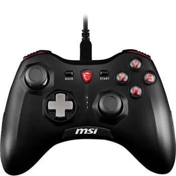 MSI FORCE GC20 Wired Pro Gaming Controller PC and Android 'PC and Android ready, adjustable D-Pad cover, Dual vibration motors, Ergonomic design, detachable cables' - S10-0400030-EC4