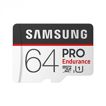 Samsung 64 GB PRO Endurance MicroSDHC Memory Card with SD Adapter