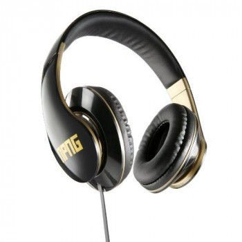 VEP-020-NPNG No Proof No Glory Super Soft adjustable stereo headphones with Flex anti tangle cord - powered by Veho