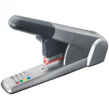 Leitz Heavy Duty Stapler, 80 Sheet Capacity, Ergonomic Metal Body, Includes Staples, 55510084 - Silver