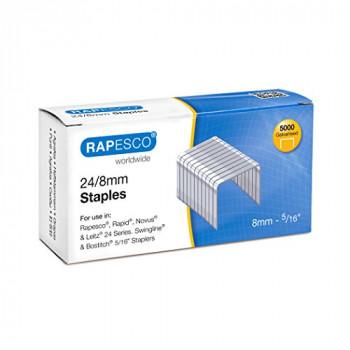 Rapesco S24807Z3 Staples - 24/8mm. Box of 5,000