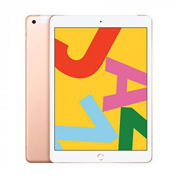 Apple iPad (10.2-inch, Wi-Fi + Cellular, 128GB) - Gold (Latest Model)