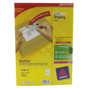 White Address Label - Laser [250 Sheets] L7169-250