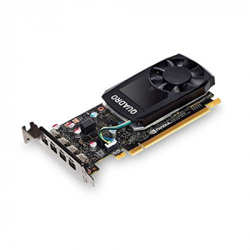 PNY Technologies VCQP620DVI-PB Quadro P620 2048 GDDR5 Low Profile 4x mini DP 1.4 - Black