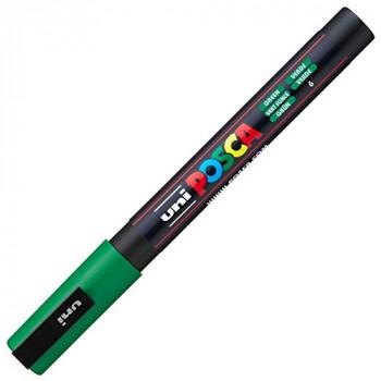 Uni-Ball Posca Fine Bullet Tip Marker - Green