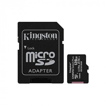 Kingston Canvas Select Plus microSD Card SDCS2/128 GB Class 10 (SD Adapter Included)