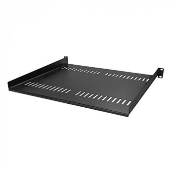 Vented 1U Rack Shelf - 16in Deep