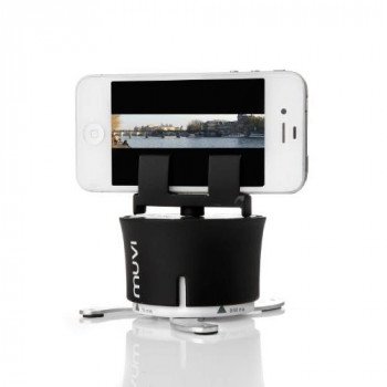 Veho VCC-100-XL MUVI X-Lapse 360 Degree Photography and Timelapse Accessory for iPhone, Action Cameras & Time Lapse Cameras - Black