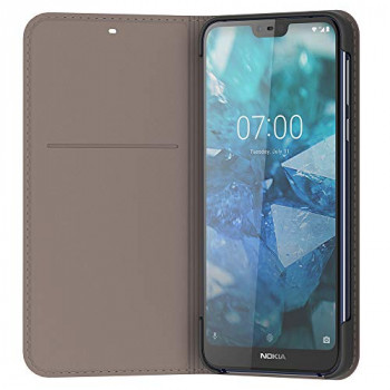 Nokia 7.1 Entertainment Flip Cover - Grey
