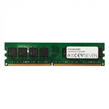 V7 V753002GBD Desktop DDR2 DIMM Memory Module 2GB (667MHZ, CL5, PC2-5300, 240 polig, 1.8 Volt)