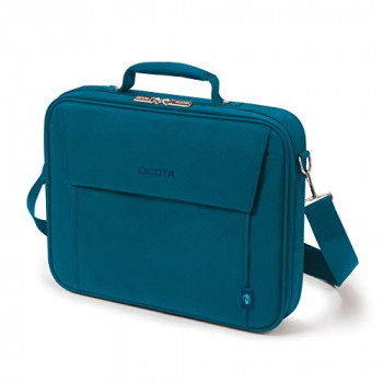 DICOTA Multi BASE 14-15.6 - lightweight laptop bag with protective padding, blue