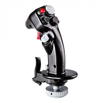 Thrustmaster F-16C Viper HOTAS Add-On Grip — Versatile replica fighter aircraft flight stick for flight games and simulations