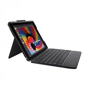 Logitech 920-009047 Slim Combo 5th and 6th Generation iPad - Black
