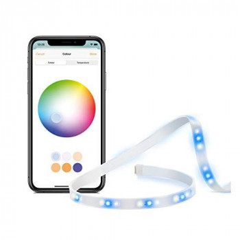 Eve Light Strip (UK-Version) - Smart LED Light Strip, Full-Spectrum White and Color, 1800 lumens, no Bridge Necessary, Adaptive Lighting (Apple HomeKit)