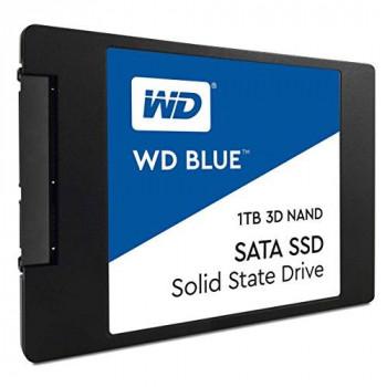 Western Digital WDS100T2B0A WD Blue 3D NAND SATA SSD Internal Storage, 1TB - Black