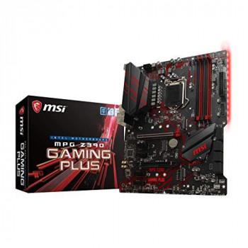 MSI 7B51-001R Newcomer in the range, Mainboards MSI MPG Z390 Gaming Plus, Intel Z390 - Sockel 1151 Black