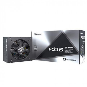 Seasonic FOCUS PX-650 Fully Modular PC Power Supply 80PLUS Platinum 650 Watt