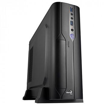 Aerocool CS-101 Slim M-ATX Computer Case - Black