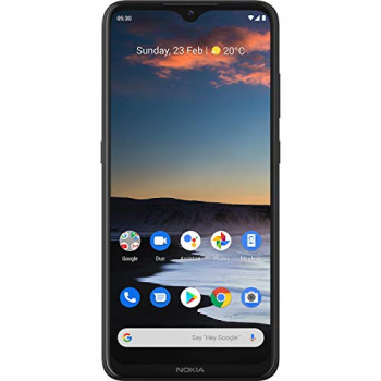 Nokia 5.3 6.55 Inch Android UK SIM Free Smartphone with 4 GB RAM and 64 GB Storage (Dual Sim) - Charcoal