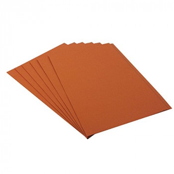Guildhall Square Cut Folder Foolscap 315gsm Orange
