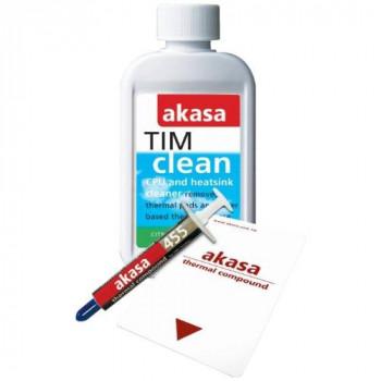 Akasa Tim-Kit Thermal Heat Paste & CPU/Heatsink Cleaner Spreader included 125ml