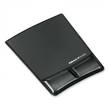 Fellowes Crystals Mouse Pad / Wrist Rest Black