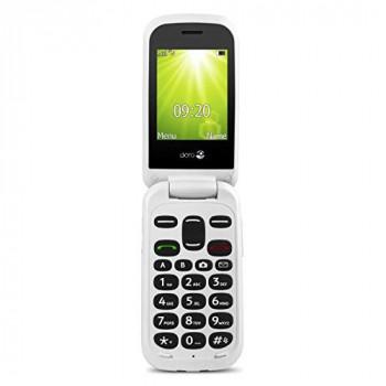 Doro 2404 SIM-Free Mobile Phone - Black/White