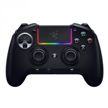Razer Raiju Ultimate 2019, Wireless and Wired Gaming Controller with Mecha Tactile Action Buttons, Interchangeable Parts, Quick Control Panel and RGB Chroma Lighting