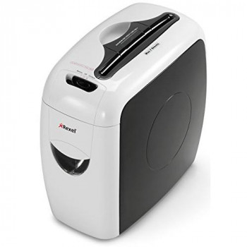 Rexel Style+ Cross Cut 7-Sheet Paper and Credit Card Shredder with 12 L Pullout Bin and View Window
