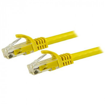 StarTech.com N6PATC50CMYL 0.5 m Cat6 Patch Short Ethernet Cable with Snagless RJ45 Connectors - Yellow