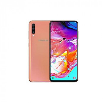 Samsung Galaxy A70 128 GB Dual-SIM 6.7-inch Android Smartphone - Coral (UK Version)